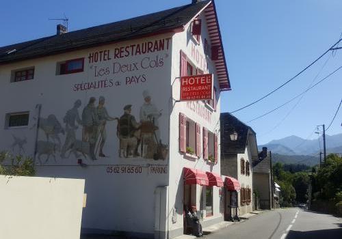 facade de hotel